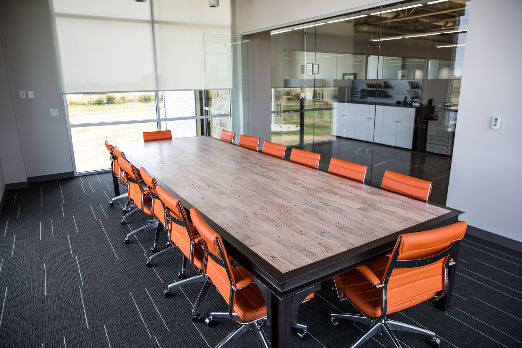 WDS office conference room with table and chairs