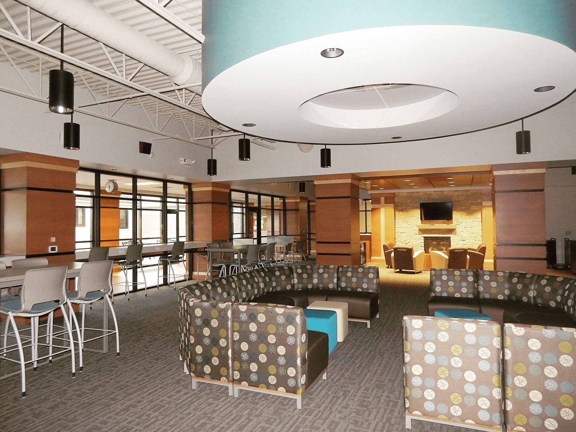End result of 2014 remodel of Central Wisconsin Christian School