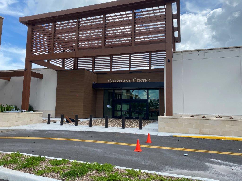 Coastland Center entrance to mall